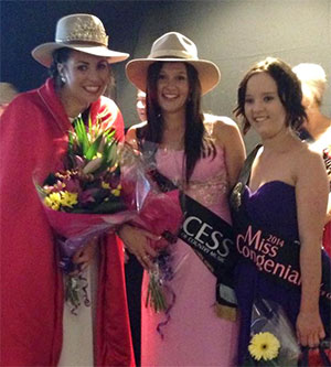 Susie Coombes Was Crowned 2014 Princess While Anna Maher Was